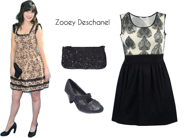 Celebrity Look: Zooey Deschanel's Twee Romanticism