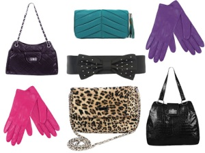 Gloves, belts and bags – oh my!