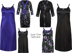 Luxurious, glamorous night wear!