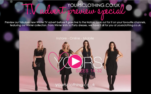 Watch to win, Yours Clothing TV advert