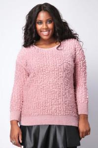 pink loopy stitch