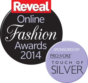 reveal online fashion awards logo