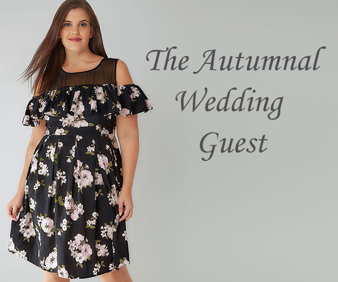 plus size wedding guest outfit curve