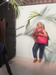 Behind the scenes of our Hayley Hasselhoff photoshoot
