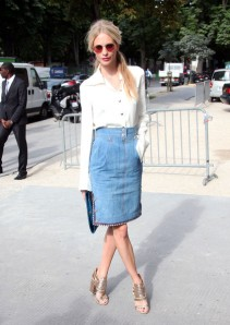 Poppy+Delevingne+Dresses+Skirts+Denim+Skirt+_v4xzGD05Ysl