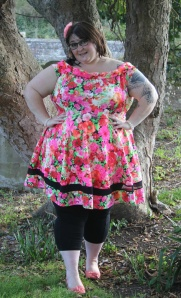 blog - ashford wearing dress