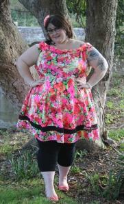 blog - ashford wearing dress