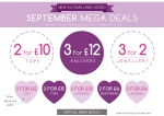 Mega savings with mega deals!