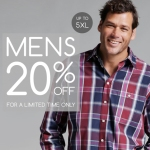 Exclusive Menswear Offer