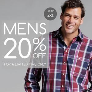 Menswear-20%
