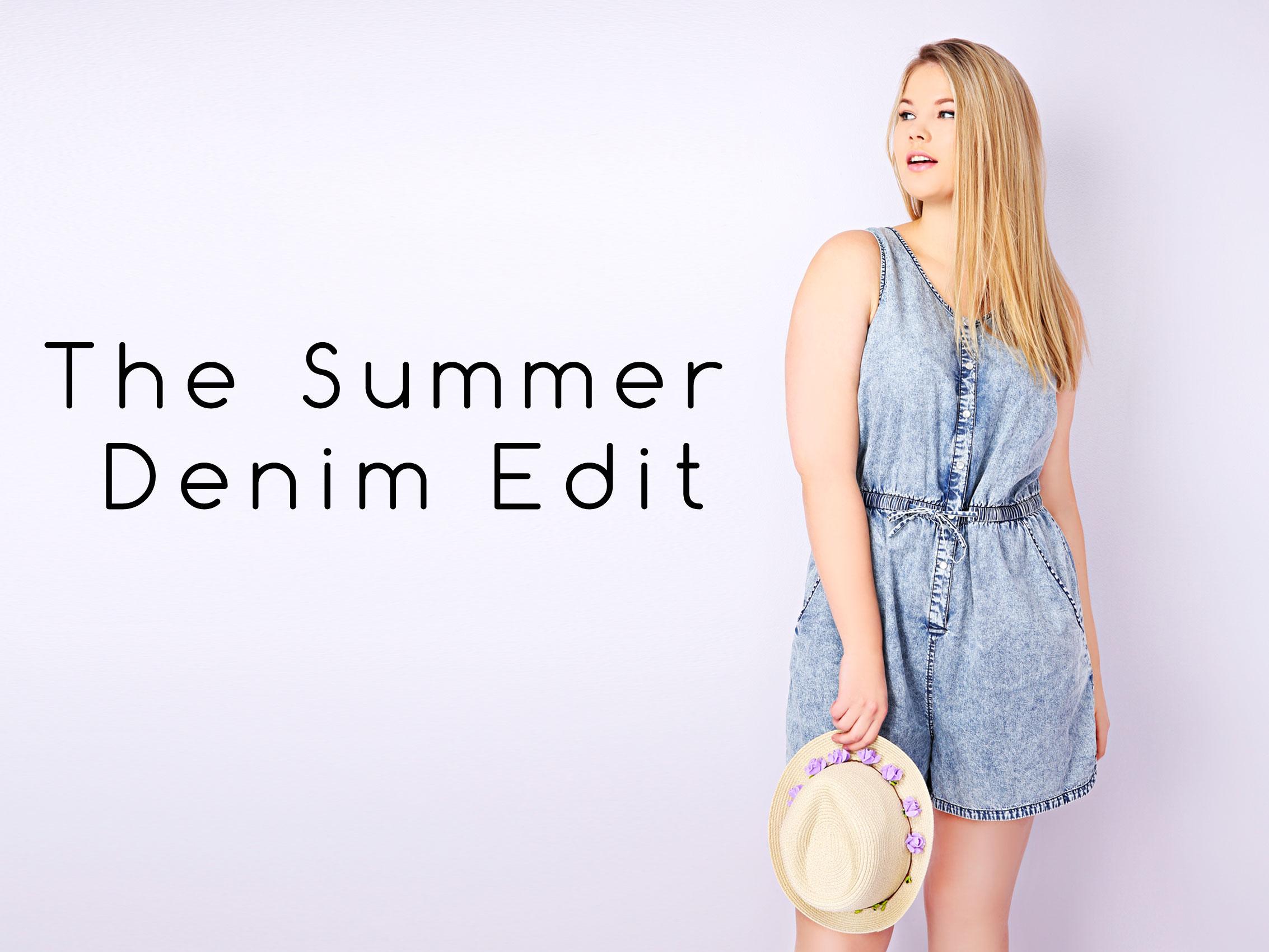 The Summer Denim Edit