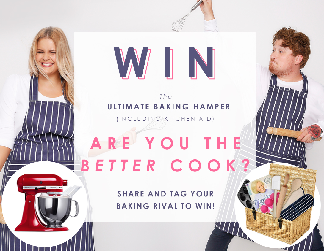 Competition to WIN – The ultimate baking hamper!