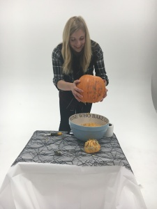 3 - Give your pumpkin a shake