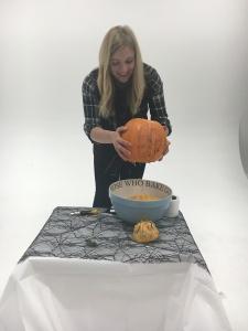 3 - Give your pumpkin a shake