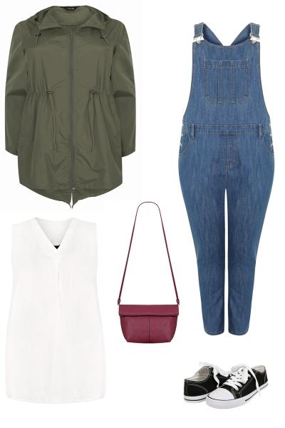 plus size spring capsule wardrobe curve clothing