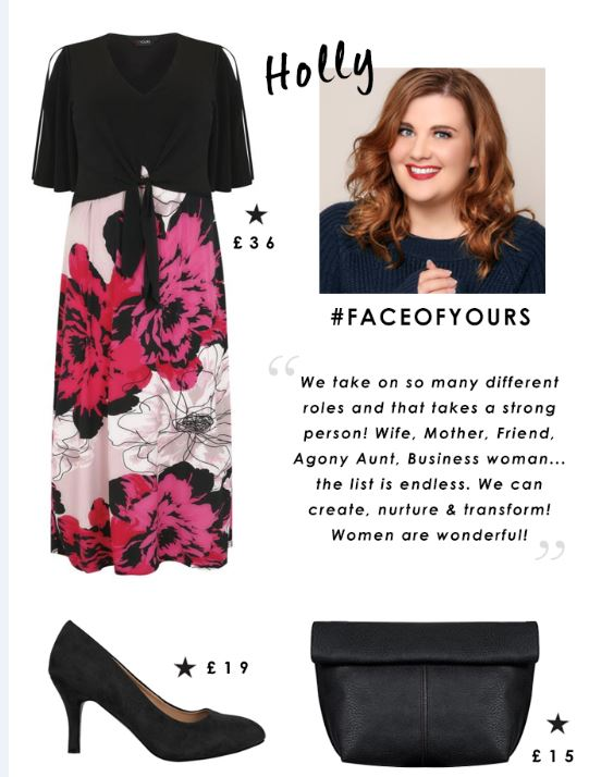 fashion blogger, plus size, international womens day, shapes and sizes
