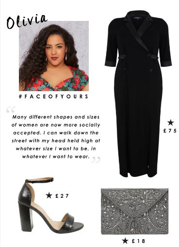 plus size blogger, international women's day, shapes and sizes