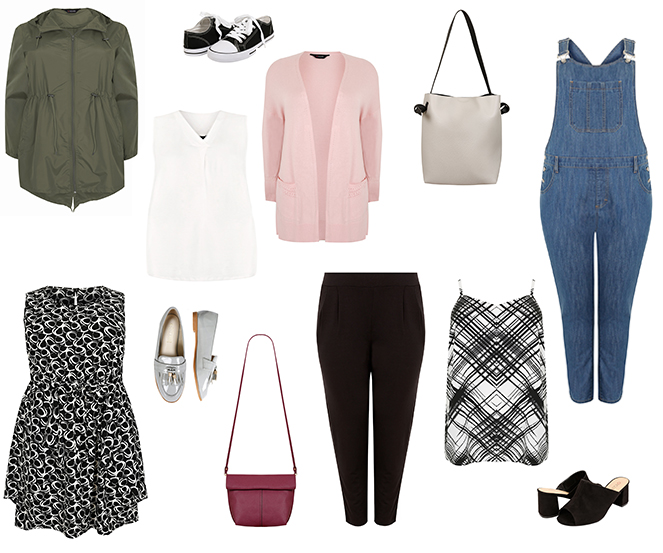 Must-Have Mix and Match Spring Wardrobe