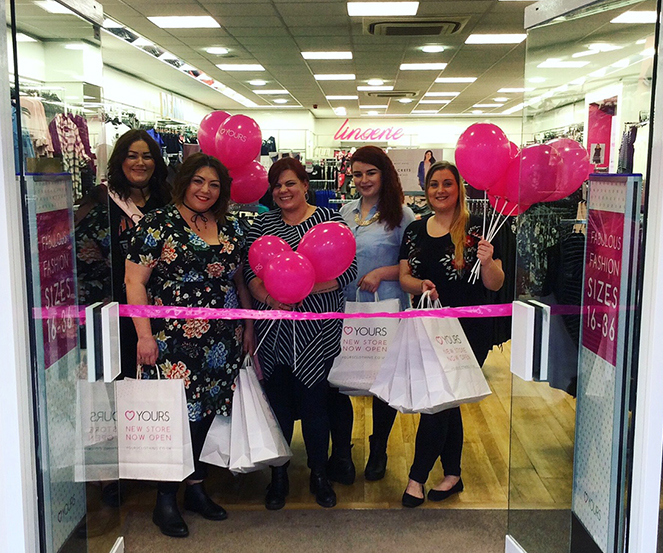 Yours Clothing Opens brand new store in Weymouth