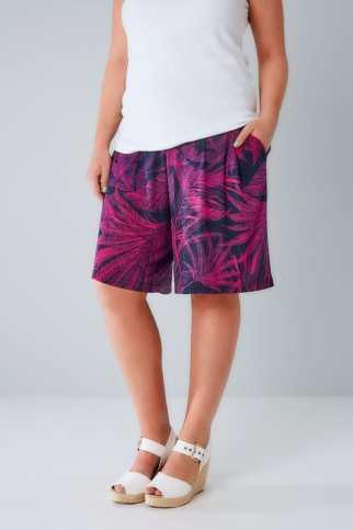 printed, casual, shorts