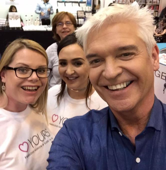 This Morning Live Yours Clothing Philip Schofield