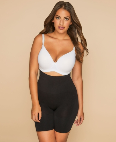 Shapewear sculpts and supports pear shape women