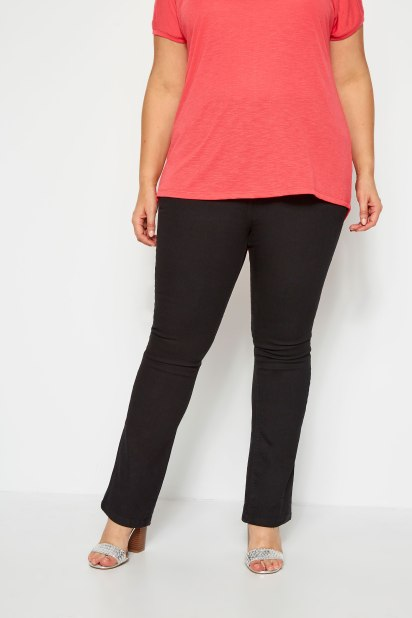 Bootcut trousers on a pear shape