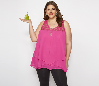 How To Dress Your Pear Shaped Body