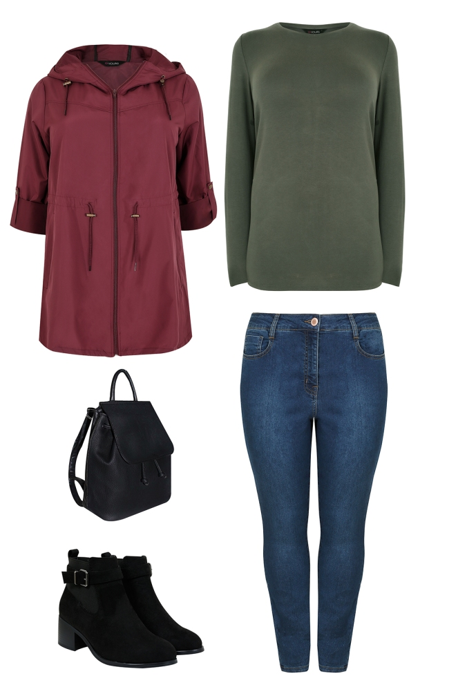 plus size curve capsule wardrobe for autumn