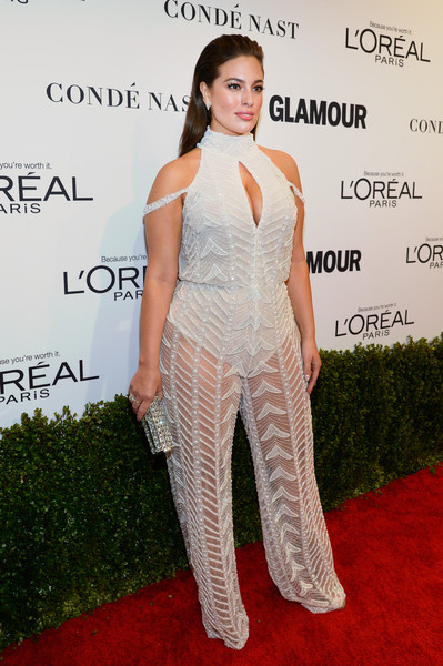 Ashley Graham red carpet plus size model
