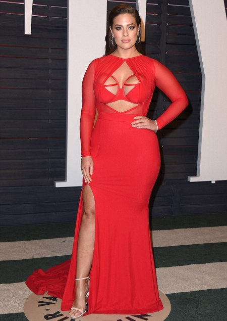 Ashley Graham red carpet