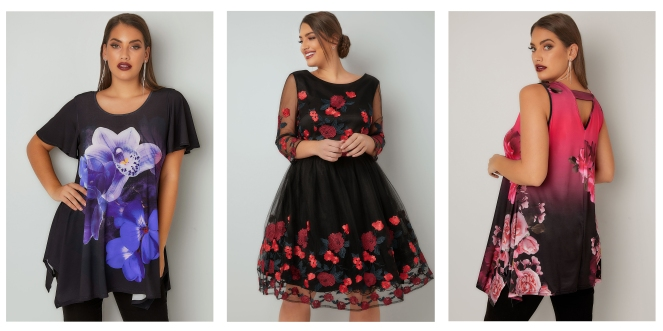 plus size Christmas party outfits for curvy ladies