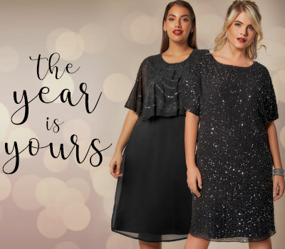 5 New Year's Eve Dresses For The Woman Who Loves To Sparkle