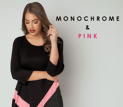 New Season Trend: Monochrome With A Touch Of Pink