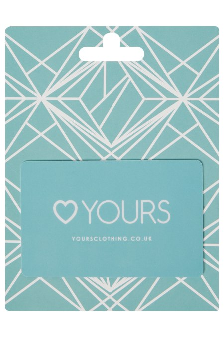 Yours Clothing gift card
