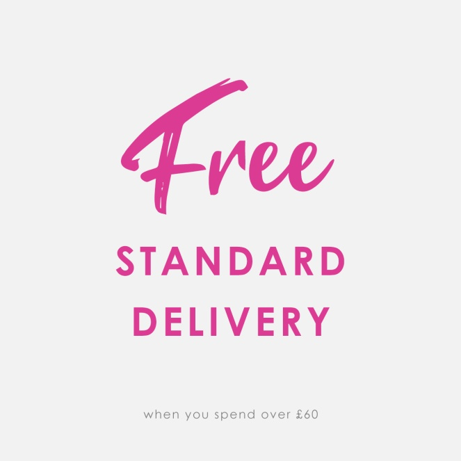 Free standard delivery message
