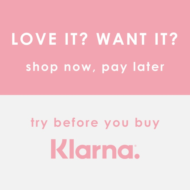 A graphic of what Klarna has to offer