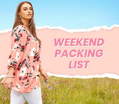 What To Pack For A Weekend Away