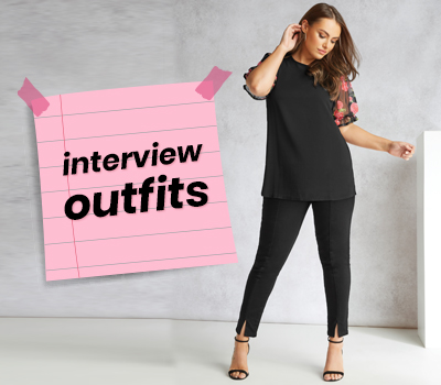 Plus Size Work and Interview Outfit Ideas