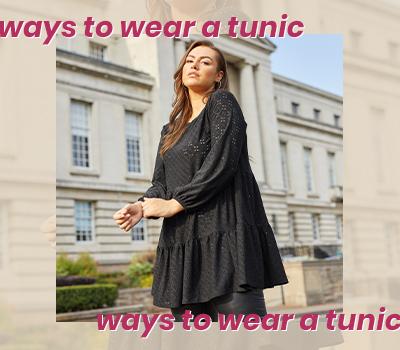 Ways To Wear A Tunic