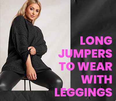 The Best Long Jumpers To Wear With Leggings