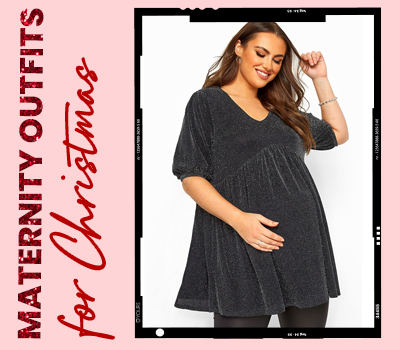 Plus Size Maternity Outfits For Christmas