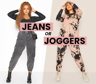 Jeans or Joggers?