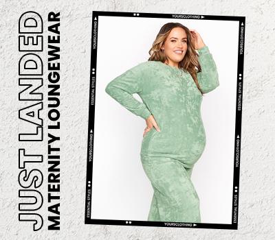 Just Landed: Maternity Loungewear
