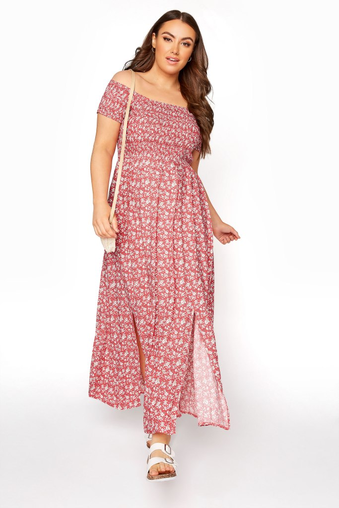 dresses for pear shape plus size floral maxi dress yours clothing