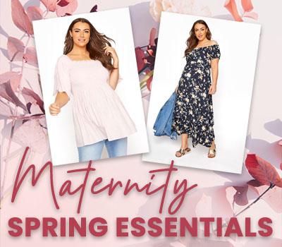 Plus Size Maternity Spring Essentials