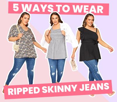 5 Ways To Wear Ripped Skinny Jeans