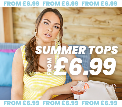 Plus Size Summer Tops From 6.99