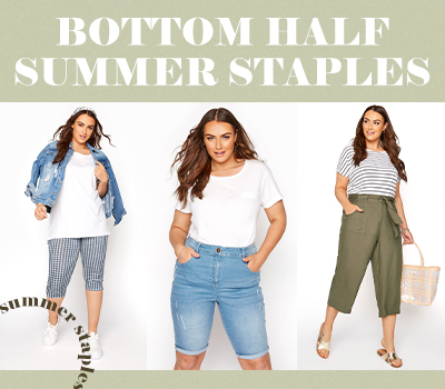 8 Bottom Half Staples You Need This Summer