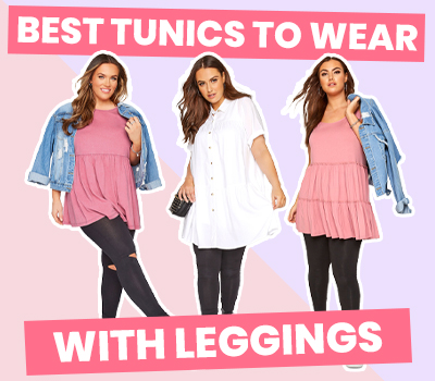 The Best Plus Size Tunic Tops To Wear With Leggings
